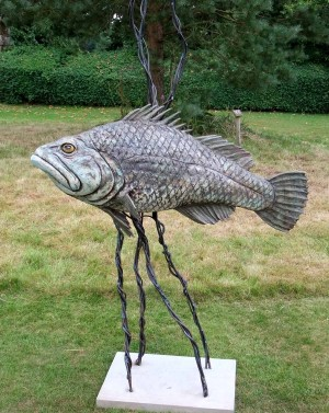 Super Grouper by David Cooke at The Sculpture Park