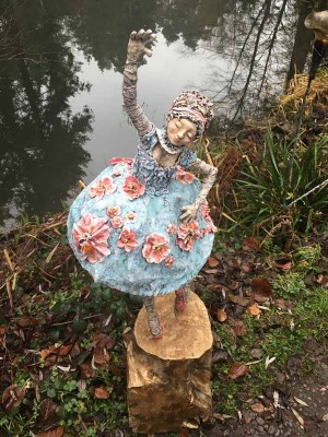 Daisy by Dawn Conn at The Sculpture Park