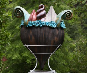 Giant Delights of Eden Sundae by Dennis Kilgallon