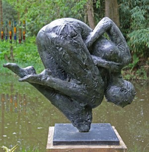 Dylan Lewis, Trans Figure II, Bronze, 3 of 8, The Sculpture Park