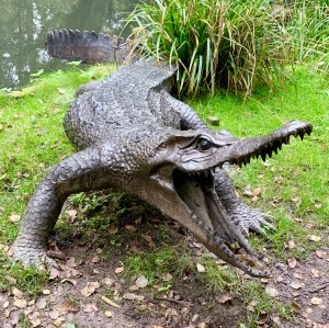 Enormous Crocodile by Anon Unknown