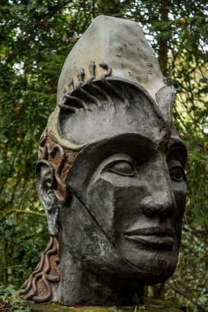 Eva Bayley, Hercules, Bronze Resin, From an Edition of 3 at The Sculpture Park