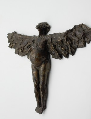 Anon, Expecting Angel, Bronze, The Sculpture Park
