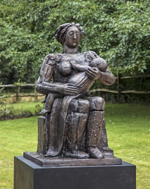 Mother and Child by Geraldine Knight