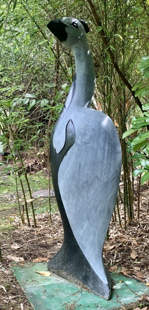 Guinea Fowl by Tendring Chipiri at The Sculpture Park