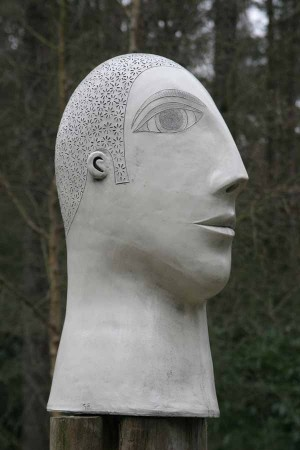 Head by Guy Routledge at The Sculpture Park