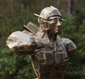 Warrior by Halliday Avray Wilson at The Sculpture Park