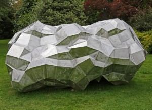 Hex, Asteroid, Stainless Steel, Unique, Imprinted with ASTEROID PF 852 FF HEX, 148cm h, 230cm w, 132cm d