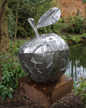Large Apple by Hilary Cartmel