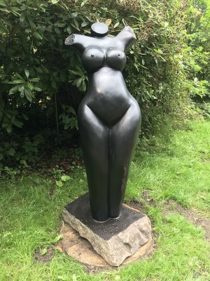 Elegant by Innocent Nyashenga at The Sculpture Park