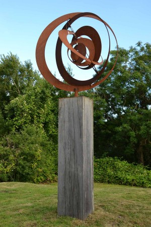 Orbit by Ivan Black at The Sculpture Park