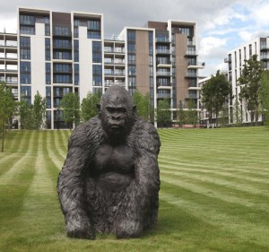 The Olympic Gorilla by John Cox