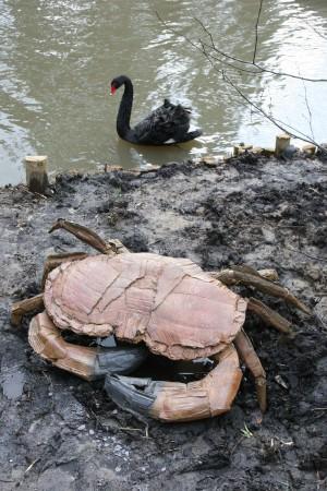 Giant Crab by Marjan Wouda