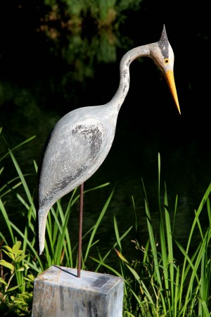 Grey Heron by Martin Scorey