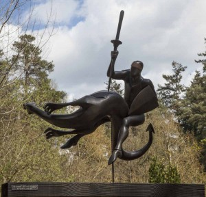 St George by Martin Scorey at The Sculpture Park