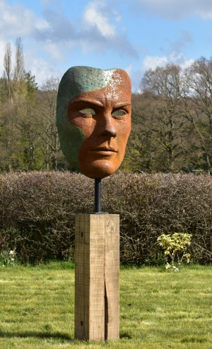 Mask of Achilles by Nicola Godden