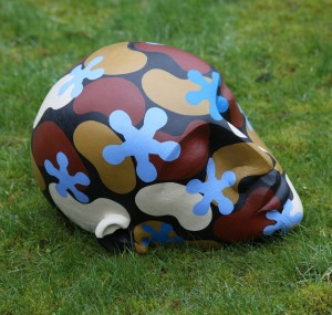 Deity Head by Patricia Volk at The Sculpture Park