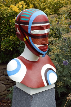 Totem Head III by Patricia Volk