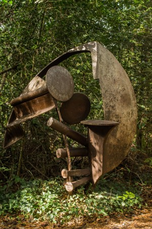 Peter Blunsden, Jericho, Welded Steel, Unique at The Sculpture Park
