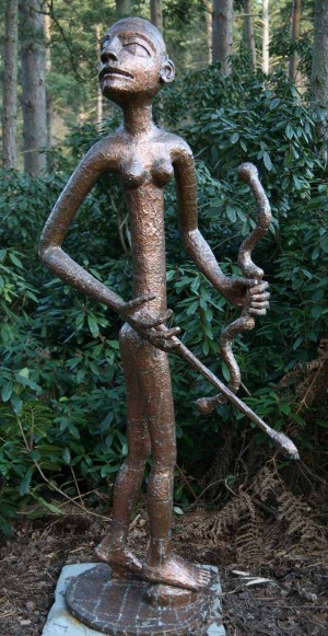 Diana the Huntress by Quentin Clemence at The Sculpture Park