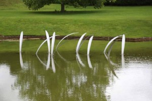 Reeds by Richard Cresswell at The Sculpture Park