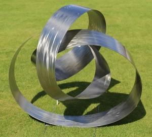Ribbon by Richard Cresswell at The Sculpture Park