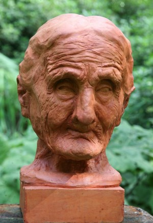 Bust of Old Man by Rigo Righi