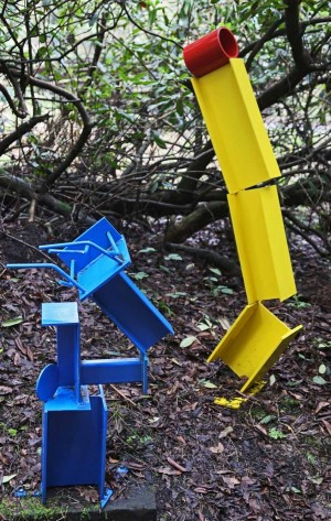 Blue and Yellow by Roland Lawar at The Sculpture Park