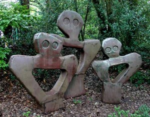 The Family by Roland Lawar at The Sculpture Park