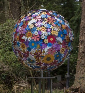 Large Pollination of Bees and Butterflies by Ruth Moilliet at The Sculpture Park