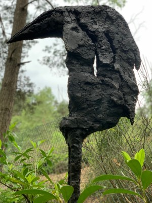 The Sentinel by Lydia Seagrove at The Sculpture Park