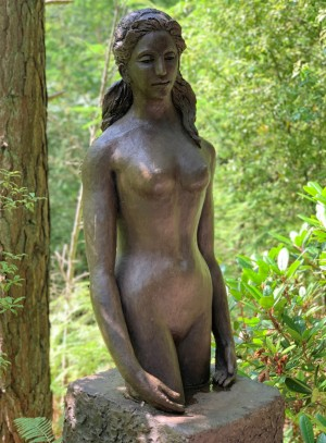 Young Girl by Sheila Mitchell at The Sculpture Park