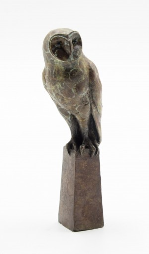Owl on Plinth by Anon Unknown
