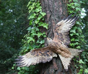 Red Kite by Simon Griffiths at The Sculpture Park