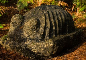Trilobite by Tim Threlfall at the Sculpture Park