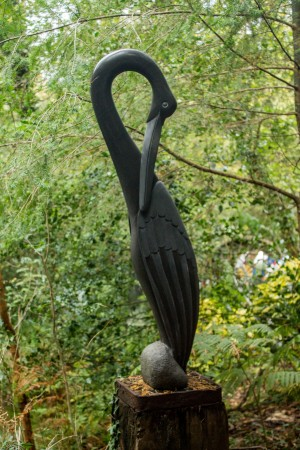Preening Bird by Tinashota Chiheta at The Sculpture Park