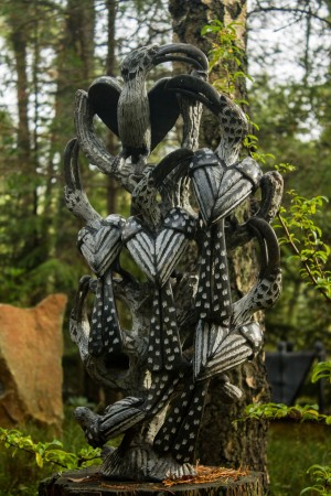 Hornbill by Try Makza at The Sculpture Park