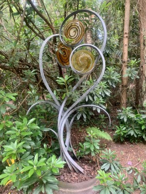 Unfurling Fern by Jenny Pickford at The Sculpture Park