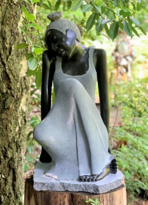 Conciliatory by Vengai Chiwawa at The Sculpture Park