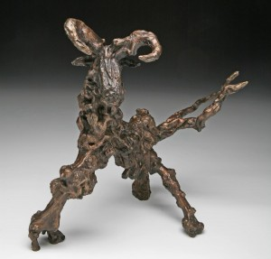 Fantasy Figure No 3 by Wilfred Pritchard