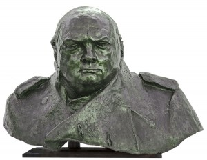 Winston Churchill by Ivor Roberts-Jones at The Sculpture Park