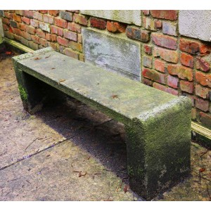 Church Bench by Anon.