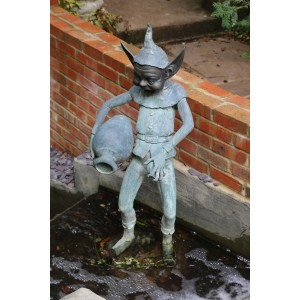 Goblin with Water Pot at The Sculpture Park