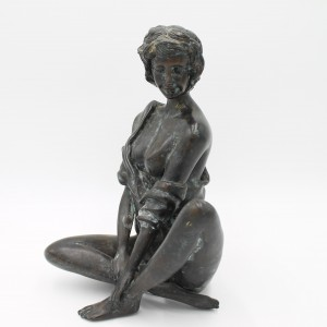 Anon, Sitting Pretty, Bronze, The Sculpture Park