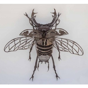 Stag Beetle Sculpture at The Sculpture Park