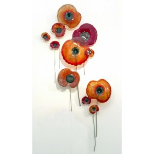 Glass Poppies by Carrie Fisher