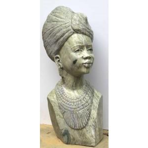 African Queen by Elliott Katombore at The Sculpture Park