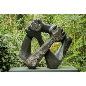 Arms Crossed by Emmanuell Changonda at The Sculpture Park
