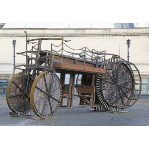 Ministry of Alternative Transport Vehicle by Francis Thorburn at The Sculpture Park