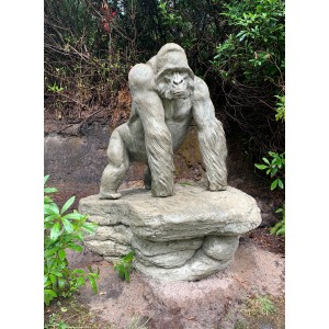 Silverback Gorilla by Mike Triton at The Sculpture Park